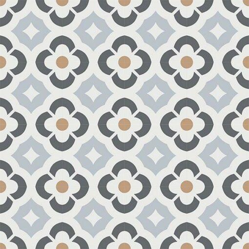 Gạch bông CTS 180.1(9-15-27-44) - 16 viên - Encaustic cement tile CTS 180.1(9-15-27-44)-16 tiles