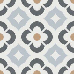 Gạch bông CTS 180.1(9-15-27-44) - 4 viên - Encaustic cement tile CTS 180.1(9-15-27-44)-4 tiles