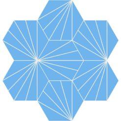 Gạch bông CTS 402.2(4-16) - 7 viên - Encaustic cement tile CTS 402.2(4-16)-7tiles