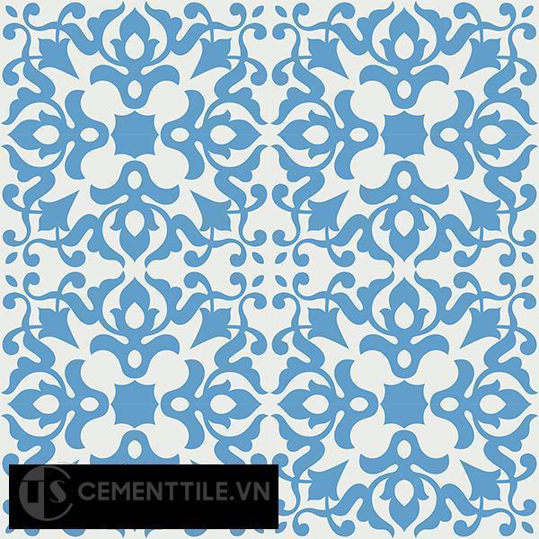 Gạch bông CTS 109.1(4-8) - 16 viên - Encaustic cement tile CTS 109.1(4-8)-16 tiles