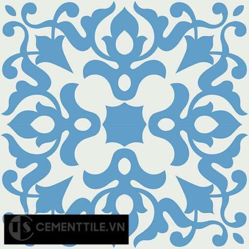 Gạch bông CTS 109.1(4-8) - 4 viên - Encaustic cement tile CTS 109.1(4-8)-4 tiles