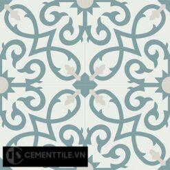 Gạch bông CTS 127.2(4-49-54) - 4 viên - Encaustic cement tile CTS 127.2(4-49-54)-4 tiles
