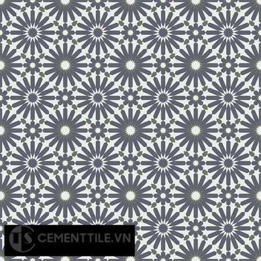 Gạch bông CTS 145.1(3-4-15) - 16 viên - Encaustic cement tile CTS 145.1(3-4-15)-16 tiles