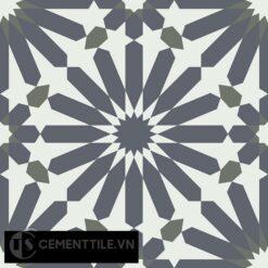 Gạch bông CTS 145.1(3-4-15) - Encaustic cement tile CTS 145.1(3-4-15)