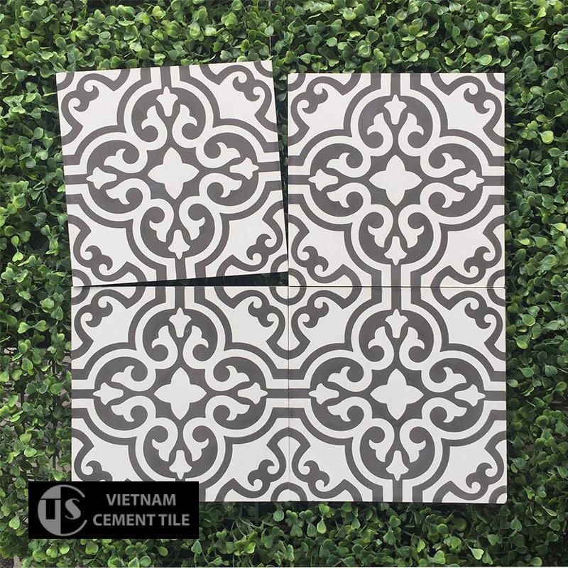 Gạch bông CTS 151.1(4-13) - Encaustic cement tile CTS 151.1(4-13)