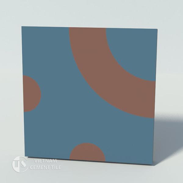 Gạch bông CTS 75.1(1-60) - Encaustic cement tile CTS 75.1(1-60)