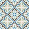Gạch bông CTS 87.2(4-7-8-11-13) - 16 viên - Encaustic cement tile CTS 87.2(4-7-8-11-13)-16 tiles
