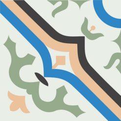 Gạch bông CTS 87.2(4-7-8-11-13) - Encaustic cement tile CTS 87.2(4-7-8-11-13)