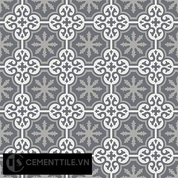 Gạch bông CTS 1.40(4-9-32) - 16 viên - Encaustic cement tile CTS 1.40(4-9-32)-16 tiles