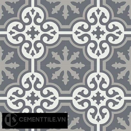 Gạch bông CTS 1.40(4-9-32) - 4 viên - Encaustic cement tile CTS 1.40(4-9-32)-4 tiles