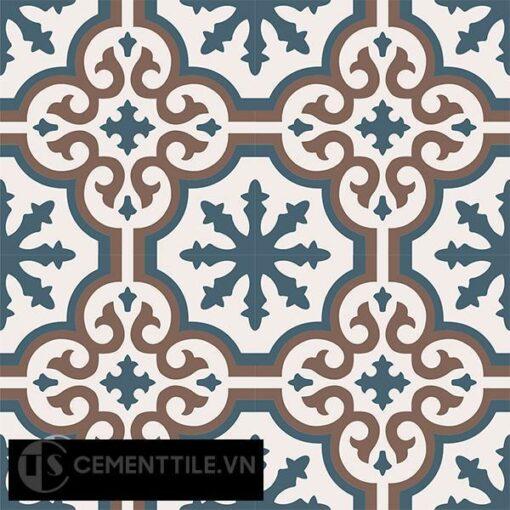 Gạch bông CTS 1.41(1-4-14) - 4 viên - Encaustic cement tile CTS 1.41(1-4-14)-4 tiles