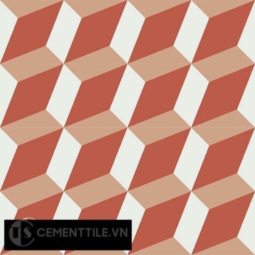 Gạch bông CTS 13.4(4-5-11) - 16 viên - Encaustic cement tile CTS 13.4(4-5-11)-16 tiles