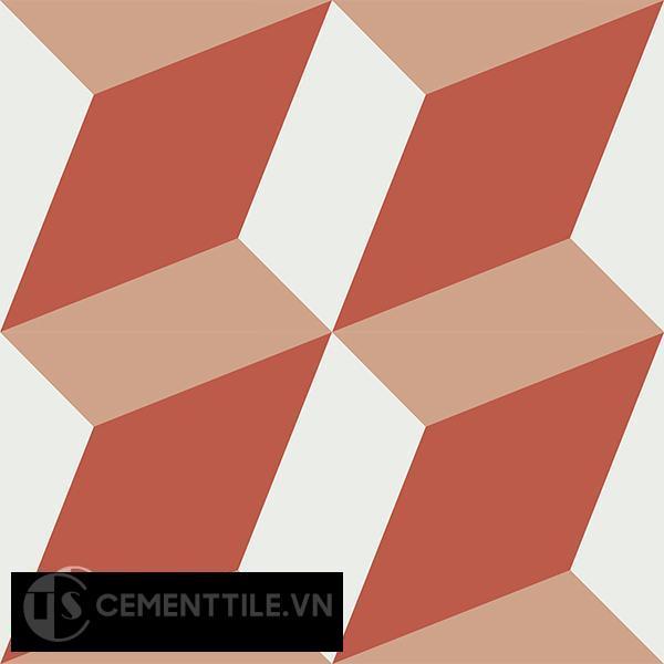 Gạch bông CTS 13.4(4-5-11) - 4 viên - Encaustic cement tile CTS 13.4(4-5-11)-4 tiles