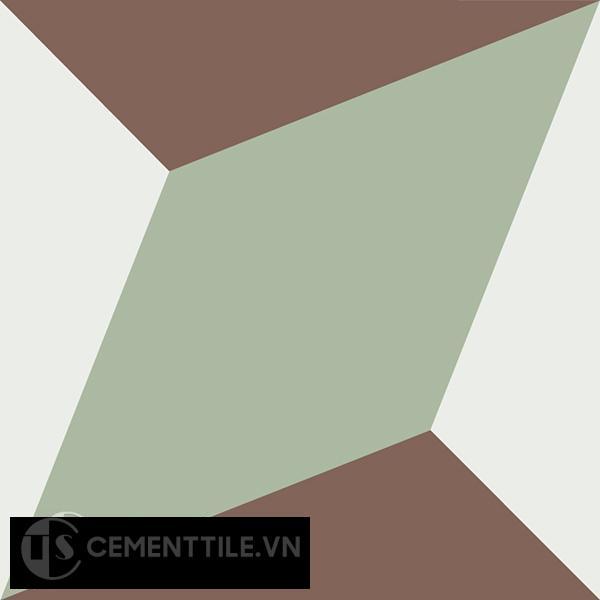 Gạch bông CTS 13.7(4-7-14) - Encaustic cement tile CTS 13.7(4-7-14)