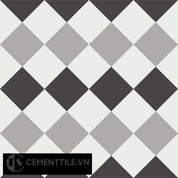 Gạch bông CTS 14.2(4-9-13) - 16 viên - Encaustic cement tile CTS 14.2(4-9-13)-16 tiles