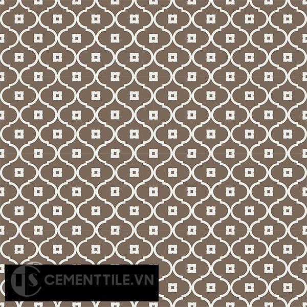 Gạch bông CTS 163.3(4-28) - 16 viên - Encaustic cement tile CTS 163.3(4-28) - 16 tiles