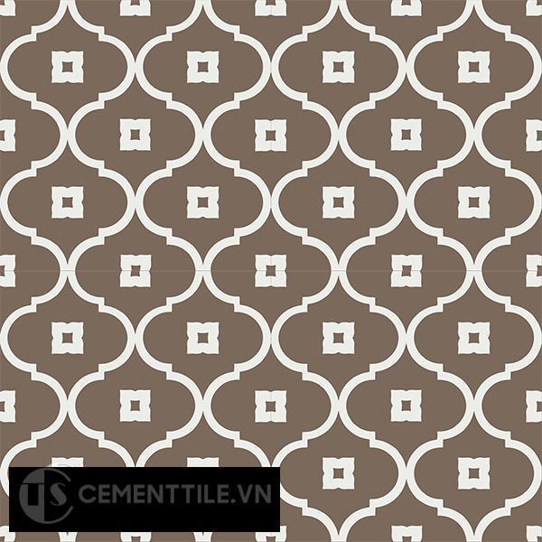 Gạch bông CTS 163.3(4-28) - 4 viên - Encaustic cement tile CTS 163.3(4-28) - 4 tiles