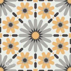 Gạch bông CTS 19.8(4-6-9-13) - 4 viên - Encaustic cement tile CTS 19.8(4-6-9-13)-4 tiles