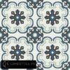 Gạch bông CTS 5.8(1-4-13-26) – 16 viên – Encaustic cement tile CTS 5.8(1-4-13-26)-16 tiles
