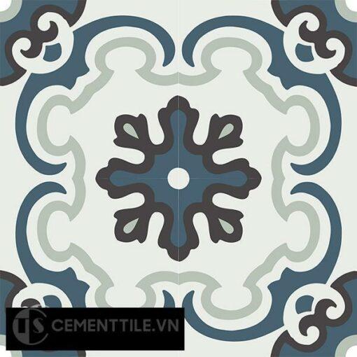 Gạch bông CTS 5.8(1-4-13-26) - 4 viên - Encaustic cement tile CTS 5.8(1-4-13-26)-4 tiles