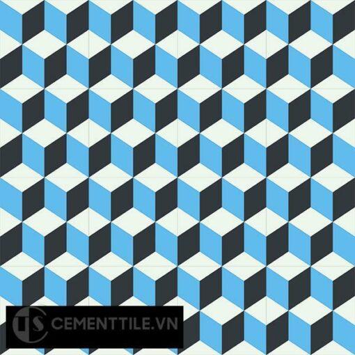 Gạch bông CTS 8.8(4-8-13) - 16 viên - Encaustic cement tile CTS 8.8(4-8-13)-16 tiles
