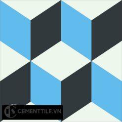 Gạch bông CTS 8.8(4-8-13) - Encaustic cement tile CTS 8.8(4-8-13)