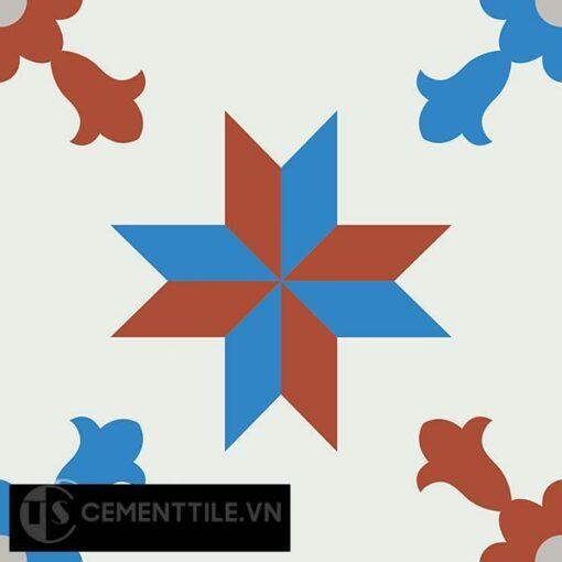 Gạch bông CTS 93.1(4-8-9-30) - Encaustic cement tile CTS 93.1(4-8-9-30)
