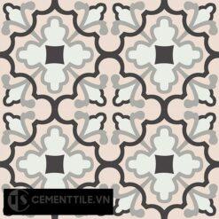 Gạch bông CTS 103.1(4-9-13-27) - 4 viên - Encaustic cement tile CTS 103.1(4-9-13-27)-4 tiles
