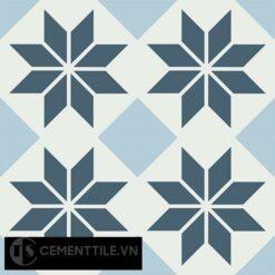 Gạch bông CTS 105.1(1-2-4) - 4 viên - Encaustic cement tile CTS 105.1(1-2-4)-4 tiles