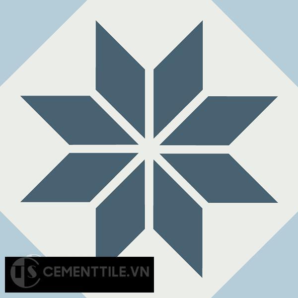 Gạch bông CTS 105.1(1-2-4) - Encaustic cement tile CTS 105.1(1-2-4)