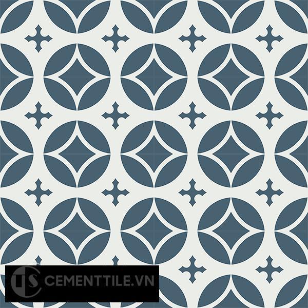 Gạch bông CTS 111.1(1-4) - 16 viên - Encaustic cement tile CTS 111.1(1-4)-16 tiles
