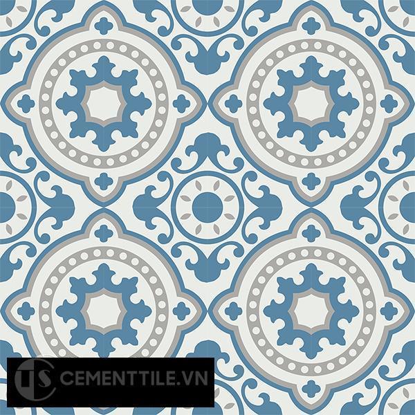 Gạch bông CTS 112.4(4-9-10) - 16 viên - Encaustic cement tile CTS 112.4(4-9-10)-16 tiles
