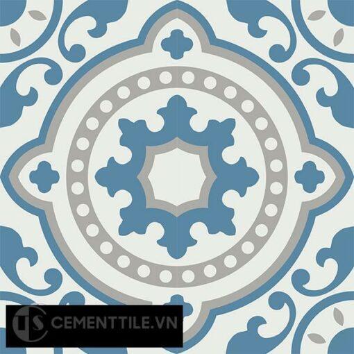Gạch bông CTS 112.4(4-9-10) - 4 viên - Encaustic cement tile CTS 112.4(4-9-10)-4 tiles