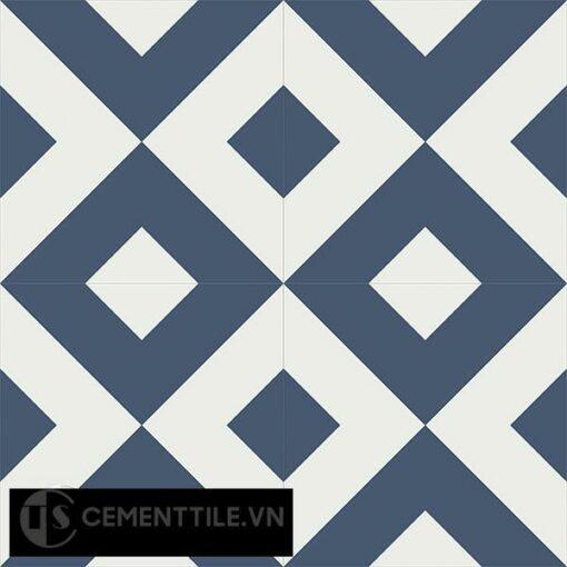 Gạch bông CTS 115.5(4-100) - 4 viên - Encaustic cement tile CTS 115.5(4-100)-4 tiles
