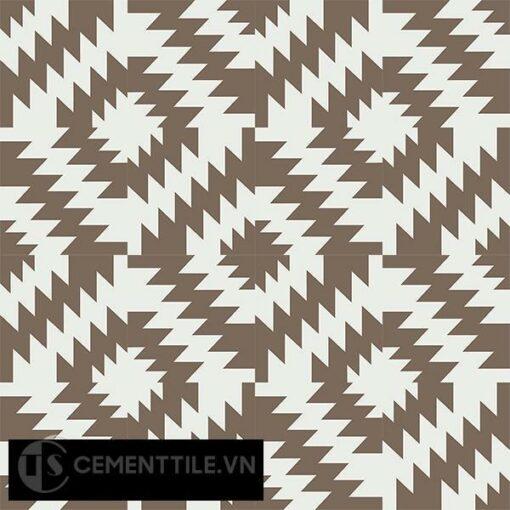 Gạch bông CTS 116.1(4-28) - 16 viên - Encaustic cement tile CTS 116.1(4-28)-16 tiles