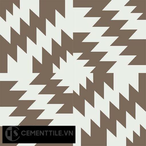 Gạch bông CTS 116.1(4-28) - 4 viên - Encaustic cement tile CTS 116.1(4-28)-4 tiles