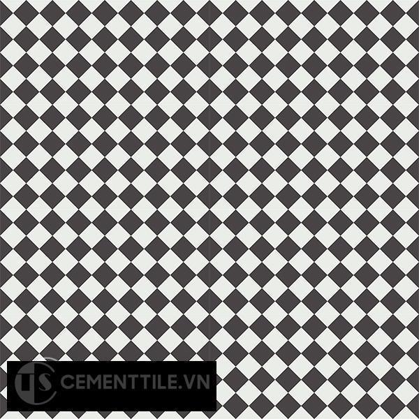Gạch bông CTS 119.1(4-13) - 16 viên - Encaustic cement tile CTS 119.1(4-13)- 16 tiles