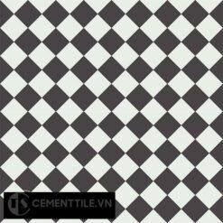 Gạch bông CTS 119.1(4-13) - 4 viên - Encaustic cement tile CTS 119.1(4-13)-4 tiles