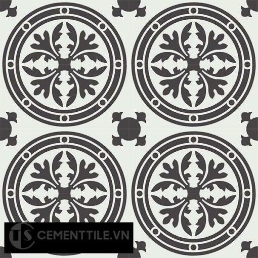Gạch bông CTS 120.1(4-13) - 16 viên - Encaustic cement tile CTS 120.1(4-13)-16 tiles