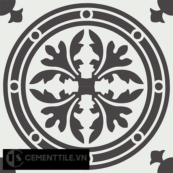 Gạch bông CTS 120.1(4-13) - 4 viên - Encaustic cement tile CTS 120.1(4-13)-4 tiles
