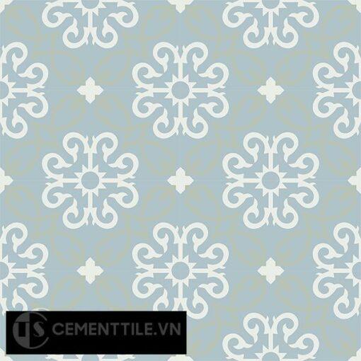 Gạch bông CTS 127.1(4-26-29) - 16 viên - Encaustic cement tile CTS 127.1(4-26-29)-16 tiles
