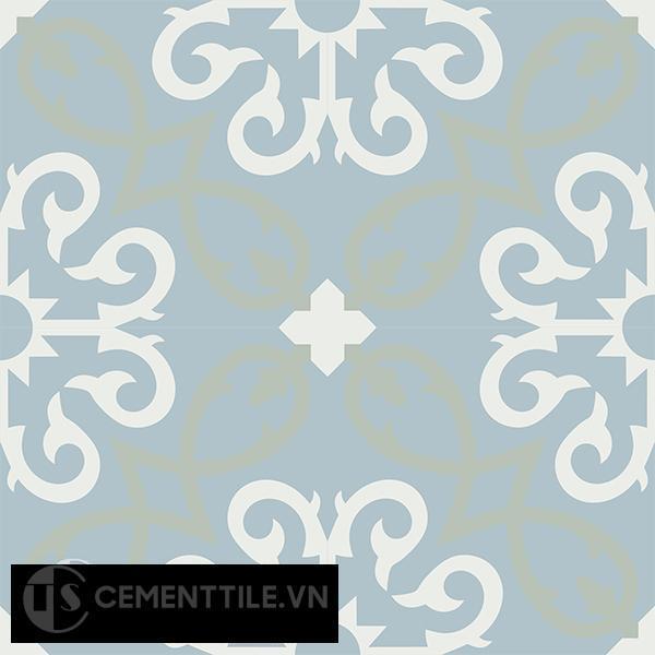 Gạch bông CTS 127.1(4-26-29) - 4 viên - Encaustic cement tile CTS 127.1(4-26-29)-4 tiles