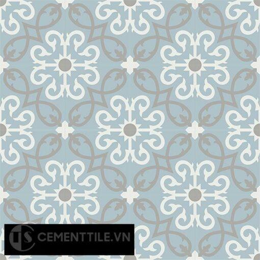 Gạch bông CTS 127.3(4-9-29) - 16 viên - Encaustic cement tile CTS 127.3(4-9-29)-16 tiles