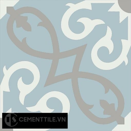 Gạch bông CTS 127.3(4-9-29) - Encaustic cement tile CTS 127.3(4-9-29)