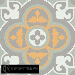 Gạch bông CTS 129.5(4-6-9-26) - 4 viên - Encaustic cement tile CTS 129.5(4-6-9-26)-4 tiles
