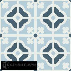 Gạch bông CTS 137.1(1-2-4) - 4 viên - Encaustic cement tile CTS 137.1(1-2-4)-4 tiles