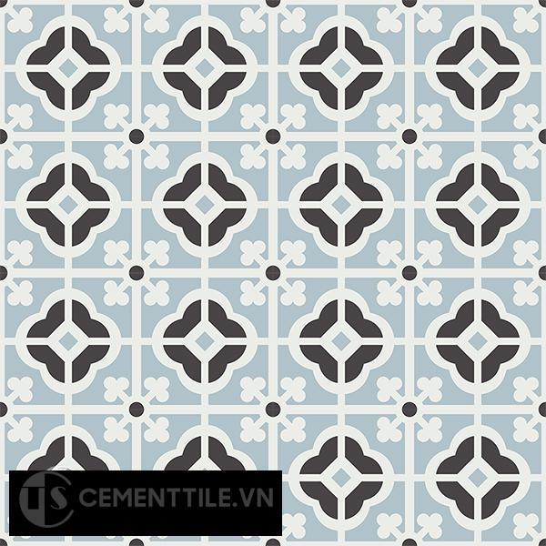 Gạch bông CTS 137.2(4-13-29) - 16 viên - Encaustic cement tile CTS 137.2(4-13-29)-16 tiles