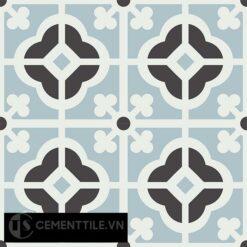 Gạch bông CTS 137.2(4-13-29) - 4 viên - Encaustic cement tile CTS 137.2(4-13-29)-4 tiles