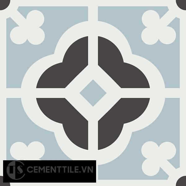 Gạch bông CTS 137.2(4-13-29) - Encaustic cement tile CTS 137.2(4-13-29)