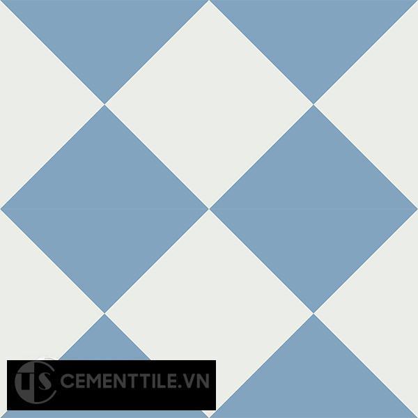 Gạch bông CTS 14.3(4-16) - 4 viên - Encaustic cement tile CTS 14.3(4-16)-4 tiles